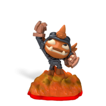 Skylanders Trap Team / Mini figura / Small Fry ˇhasznált