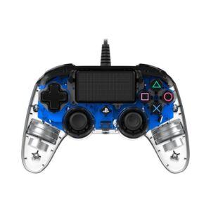 Nacon vezetékes kontroller halványkék színben (PS4)