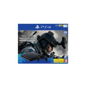 PlayStation 4 SLIM 1TB Konzol Call of Duty Modern Warfare 2019 szoftverrel (PS4)