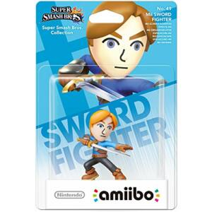 Super Smash Bros. Collection / Mii Sword Fighter amiibo figura (#49)