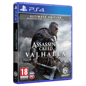 ASSASSIN'S CREED VALHALLA - ULTIMATE EDITION (PS4)