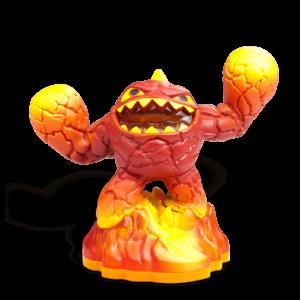 Skylanders Giants / Figura / Lightcore Eruptor ˇhasznált