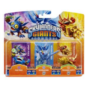 Skylanders Giants / Triple Pack / Triple Pack A (Pop Fizz, Whirlwind S02, Trigger Happy S02)