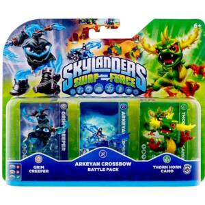 Skylanders SWAP Force / Battle Pack / Arkeyan Crossbow (Grim Creeper, Thorn Horn Camo, Arkeyan Crossbow)