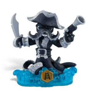 Skylanders SWAP Force / SWAP Figura / Dark Wash Buckler   ˇhasznált