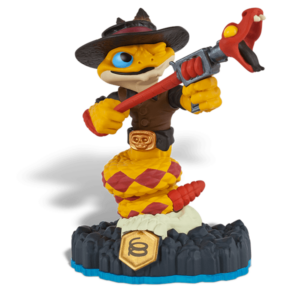 Skylanders SWAP Force / SWAP Figura / Rattle Shake figura ˇhasznált