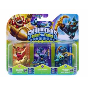 Skylanders SWAP Force / Triple Pack / Triple Pack C (Big Bang Trigger Happy, Star Strike, Anchors Away Gill Grunt)