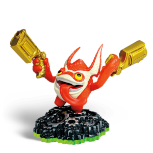 Skylanders Spyro's Adventures / Figura / Trigger Happy ˇhasznált