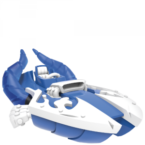 Skylanders Superchargers / Jármű / Power Blue Splatter Splasher