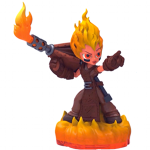 Skylanders Trap Team / Figura / Torch ˇhasznált