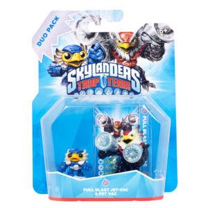 Skylanders Trap Team / Duo Pack / Full Blast Jet-Vac + Pet Vac