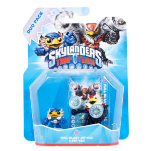 Skylanders Trap Team / Duo Pack / Full Blast Jet-Vac + Pet Vac