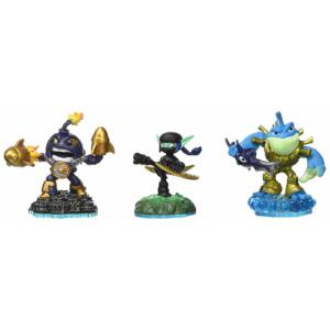 Skylanders Champions Combo Pack / Countdown + Ninja Stealth Elf + Rip Tide