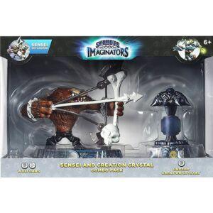 Skylanders Imaginators / Sensei and Creation Crystal Combo Pack / Wolfgang + Undead Creation Crystal