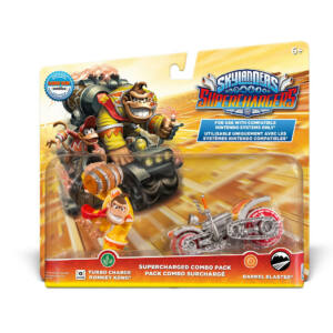 Skylanders Superchargers / Supercharged Combo Pack / Turbo Charge Donkey Kong & Barrel Blaster