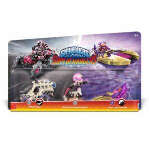 Skylanders Superchargers / Supercharged Triple Pack / Bone Bash Roller Brawl & Tomb Buggy & Splatter Splasher