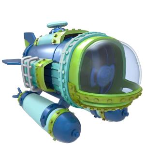 Skylanders Superchargers / Jármű / Dive Bomber ˇhasznált
