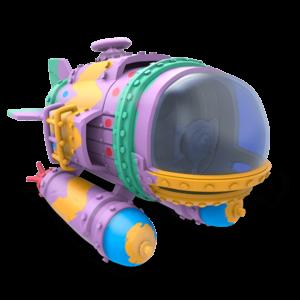 Skylanders Superchargers / Jármű / Spring Ahead Dive Bomber ˇHASZNÁLT