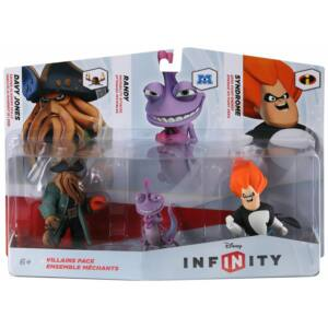 Disney Infinity Villains Pack / Davy Jones, Randy, Syndrome