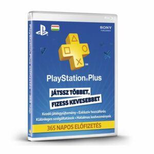 PlayStation Network Plus kártya (1 éves)