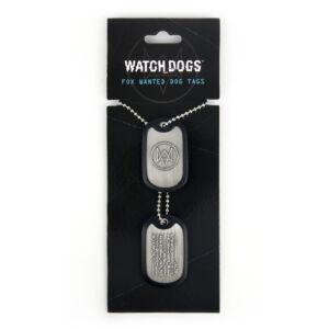 WATCH DOGS  Kulcstartó  OX WANTED