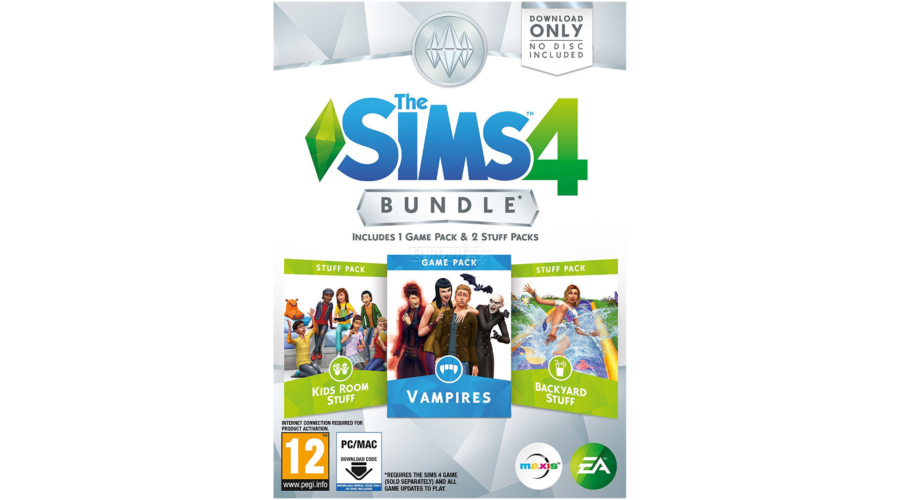 The Sims 4 Bundle 4 Pc Vampires Kids Room 233 S Backyard