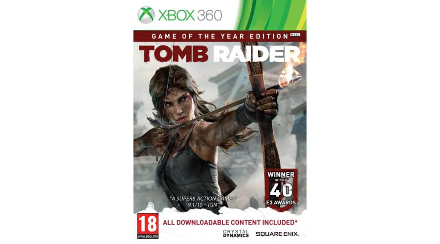 Tomb Raider Game Of The Year Edition X360 Akci 243